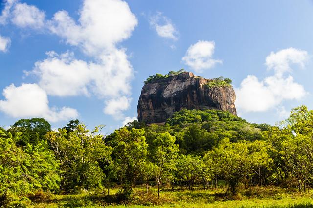 Sigiriya stands