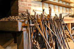 IMG_2462 (proctoracademy) Tags: blacksmith forge metalsculpture
