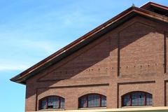 SP Building at Sacramento (Ian E. Abbott) Tags: brick bricks sanjose amtrak sp sacramento traintravel oldbuilding brickbuilding southernpacific capitolcorridor passengertrain southernpacificlines californiatrain amtrakcapitolcorridor