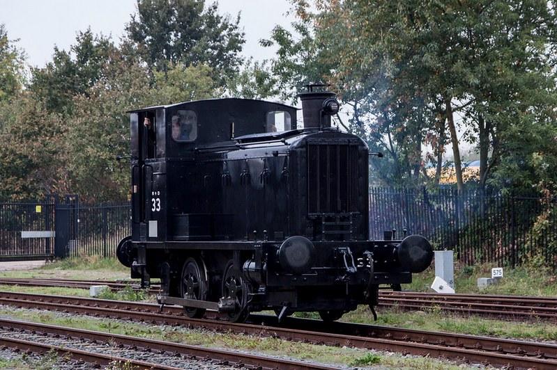 Hedendaags Invasielocomotieven' op Drents-Friese tramnet - Bevrijding JM-56