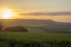 Sunset over Bo Peep (Matt Kuchta) Tags: sunset sun downs sussex countryside downland