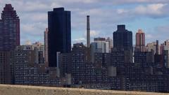 Grand Day: NYC by Car Over Roosevelt Island (catchesthelight) Tags: building skyscrapers manhattan bluesky views rooseveltisland newyorkcityny springvisit travelbycar april2016