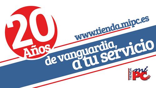 Banner 20 años - Tienda MiPC