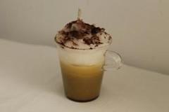CUP OF COFFEE WITH CREAM CANDLE; CANDELA CAFF MACCHIATO (ilmiomondoincera) Tags: casa handmade caff candela regalo macchiato cera artistico decorazione creativo artigianato artigianale paraffina