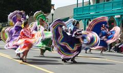 Parade dancers San Juan Capistrano (Glenmore1971) Tags: dancers sanjuancapistrano folkloric mexicandancers folkloricdance swallowsparadesanjuancapistrano