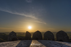 Roof top of castle. Rohtas Fort, Jhelum, Pakistan (Ali's Photograpy) Tags: pakistan sunset castle history landscape nikon shadows fort dusk punjab nikkor 2470mm historicalplaces jhelum rohtasfort aliasghar alisphotography