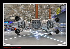The Force Awakens @ Changi Airport 12 (Lord Dani) Tags: starwars changiairport t70 incom theforceawakens resistancexwing