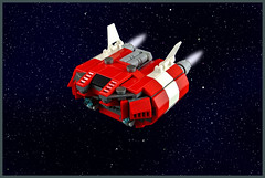 Cargo Ship CS-710 (FonsoSac) Tags: ship cargo scifi moc