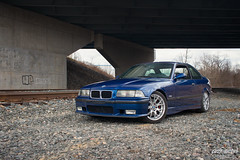 M3 (AADrcw!) Tags: auto blue sunset cars car automobile automotive bmw vehicle m3 railyard traincars worldcars