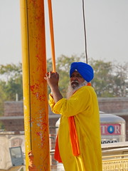SikhTempleNewDelhi012 (tjabeljan) Tags: india temple sikh newdelhi gaarkeuken sikhtemple gurudwarabanglasahib
