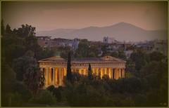 Luces y sombras *     (jose luis naussa ( + 1,7 k w. )) Tags: atenas templos atardeceres  saariysqualitypictures grecia