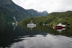 Moorings, Doubtful Sound, NZ (jozioau) Tags: boats moorings variosonnart282470