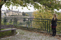 Vue sur le vieux Luxembourg (Djof) Tags: city architecture fort histoire fortification luxembourg paysage ville luxembourgcity grandduchyofluxembourg grandduchdeluxembourg