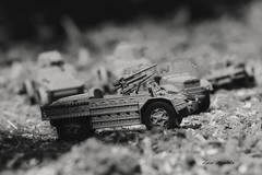 Sahariana - 1944 (lumun2012) Tags: bw macro monocromo war military models biancoenero lucio monocrome veicles mundula