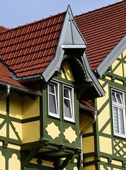 (:Linda:) Tags: germany town thuringia halftimbered hildburghausen