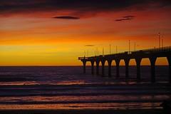 Before Sunrise New Brighton pier (mpp26) Tags: morning light sunrise dawn pier early newbrighton