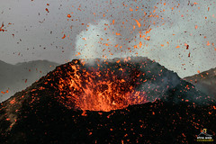 Etna Eruption (Etna Walk) Tags: nature trekking lava outdoor hiking explosion craters crater sicily geology etna eruption sicilia cratere volcanology sizilien aetna eruzione etnawalk