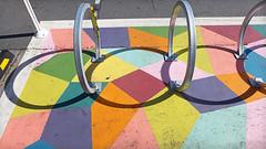 six ring circus (glennbphoto) Tags: sanfrancisco foundinsf bikerack madrone explore20160429