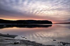 Lever de soleil sur la Baie des Ha! Ha!18-04-2016 (gaudreaultnormand) Tags: ca mer canada sunrise river de soleil eau quebec coucher ciel fjord nuage extrieur saguenay coucherdesoleil glace leverdesoleil labaie riviere