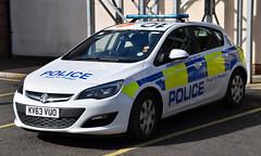 KV63VUO (Cobalt271) Tags: proud police northumbria vehicle to 13 astra protect hatchback vauxhall livery npt cdti kv63vuo