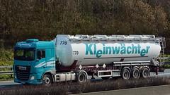D - Kleinwachter >770< DAF XF 106.440 SC (BonsaiTruck) Tags: truck silo 106 lorry camion trucks 770 bulk lastwagen daf lorries lkw xf ffb citerne lastzug silozug feldbinder kleinwchter powdertank
