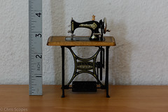 DSC_5370 (Chris Scopes) Tags: miniature sewing machine
