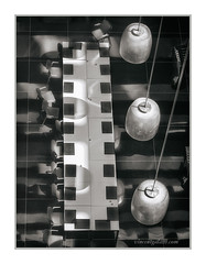 """Lobby Reflections,Hilton Hotel, Madrid, Spain, #200"" (Vincent Galassi) Tags: madrid blackandwhite usa abstract reflections hotel photo spain lasvegas nevada madras vincent hilton lobby vg galassi vincentgalassicom"