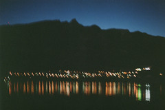 On the Road near Aix-les-Bains [Canon AE-1, 400 ASA] (Pito Charles) Tags: light lake france reflection film night analog canon vintage pose french lights spring nightlights ae1 lac oldschool lumiere vintagecamera filmcamera asa savoie canonae1 reflexion nuit canonae1program printemps aix 400asa argentique bains bourget aixlesbains ae1program pellicule longue analogcamera poselongue filmisnotdead