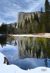 EL Cap Reflection (DaveC_5305) Tags: reflections elcapitan yoesmite