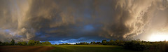storm pano (G_Anderson) Tags: sunset clouds spring midwest thunderstorm storming