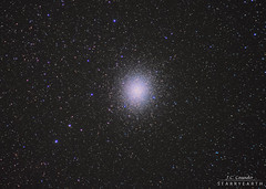 Omega Centauri globular cluster (StarryEarth) Tags: stars cluster omega estrellas centauro globular cumulo centaurus