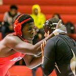 AC Flora Vars Wreslting vs Lower Richland 1-6-16