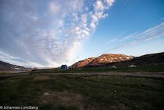 Sunset over Igaliku (JohannesLundberg) Tags: sunset gl grönland igaliku sermersooqkommune