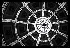 Cupola, ruota, occhio o ragnatela ... (Giuseppe Tripodi) Tags: blackandwhite bw cupola astratto photoart biancoenero cattedrale particolare bienne