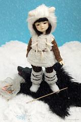 Adori Photo Contest (Damasquerade) Tags: fish snow fur fishing polarbear bjd harucasting harucastingadori
