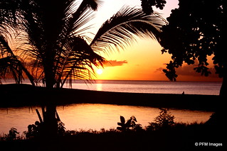Sunset in Guadeloupe