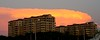 Burning skies (Marianna Gabrielyan) Tags: sunset sky orange colors clouds canon tampa florida burning canonef28135mmf3556isusm canon28135mmf3556isusm xti 400d