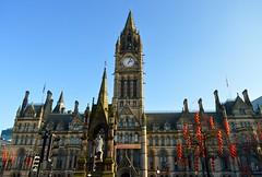 Manchester Town Hall (rustyruth1959) Tags: city manchester nikon neogothic albertsquare albertmemorial nikond3200 manchestertownhall gradeilistedbuilding