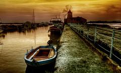 Barcas y molinos (bit ramone (off)) Tags: sea italy mar italia salt salinas sicily sicilia sal mediterrneo stagnone bitramone