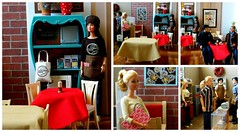 Boolster's Brew Post Holiday (rata-tat-tat) Tags: dolldiorama barbiediorama barbiepivotal barbierestaurant