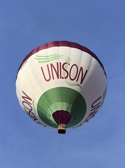 Unison (Richimal) Tags: balloons fly flying union balloon floating hotairballoon float hotairballoons bristolballoonfiesta tradeunion bristolballoonfestival bristolinternationalballoonfiesta bristolfiesta bristolhotairballoonfestival