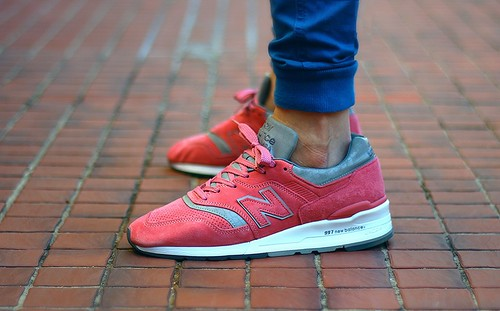 new balance 997 cpt rose