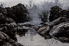 (janwellmann) Tags: ocean rocks waves pattern patterns burst pick