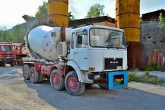 Man 33.280 8x8 (riccardo nassisi) Tags: truck rust fiat rusty lorry camion quarry cava lancia ruggine relitto excavator urbex lkw rottame escavatore epave laltesi