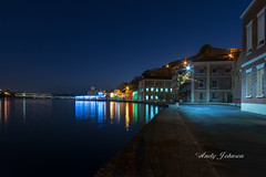 Serenity Blue ! (Andy Johnson Photos) Tags: longexposure reflections wideangle grenada bluesea nikond7100 andyjohnsonphotos
