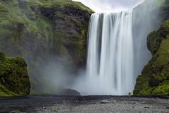 Iceland_Foss_1 (mperezq) Tags: nature water canon landscape island landscapes waterfall iceland islandia outdoor foss icelandic landmannalaugar skogafoss skogar canon6d