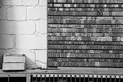 Bradford-05 (Colin Nicholson) Tags: england history industry museum vintage bradford letters printing