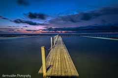 Boardwalk (darrinwalden Photography) Tags: ocean wood colour texture pool clouds timber sydney australia baths