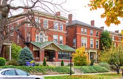Old Louisville - Third Street (Eridony) Tags: houses house kentucky louisville historicdistrict jeffersoncounty oldlouisville