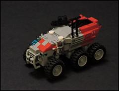 Rachel S'jet's Science Team Baserunner (Rphilo004) Tags: lego rover micro homeworld deserts baserunner microscale kharak
